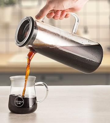 Review of Osaka Okunoin Glass Cold Brew Coffee Maker