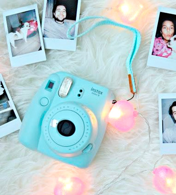 Review of Fujifilm Instax Mini 9 (Kit) Instant Camera with Fuji Instant Film (40 Sheets)