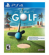 PQube 3D Mini Golf for PlayStation 4