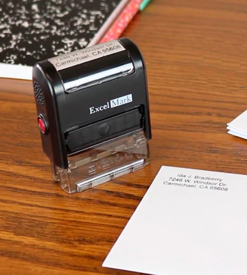 Review of ExcelMark One Line Custom Rubber Stamp