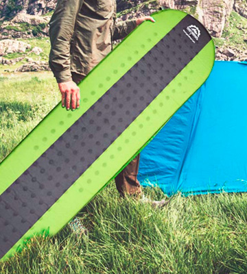 Review of Gear Doctors Lightweight Self Inflating Sleeping Pad