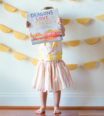 Review of Adam Rubin Dragons Love Tacos