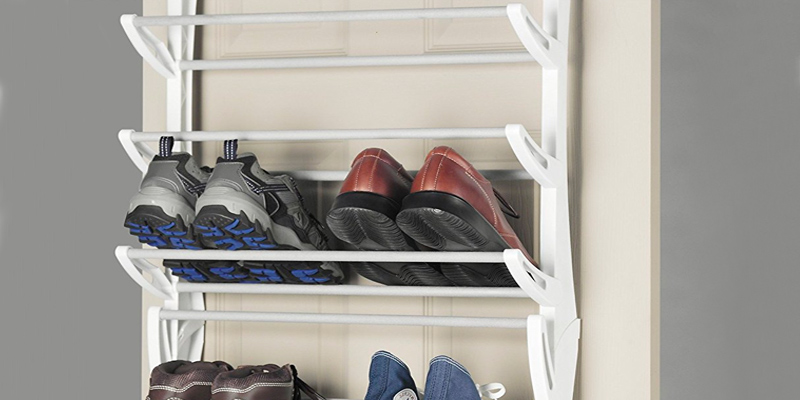 Review of Whitmor 6486-1746-WHT Over-The-Door Shoe Rack