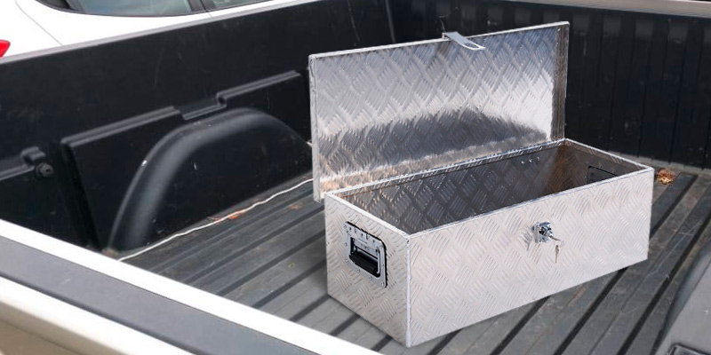 Review of Yaheetech Truck Tool Box Organizer Stainless Steel Trailer