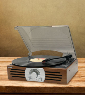 Review of Jensen JTA-222 3-Speed Turntable