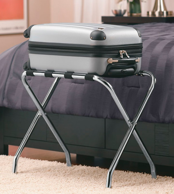 Review of Whitmor 6060-430 Chrome Luggage Rack Chrome