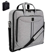ZEGUR Suit Carry On Garment Bag for Travel and Business Trips
