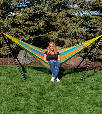Review of Sunnydaze Decor Universal Steel Hammock Stand
