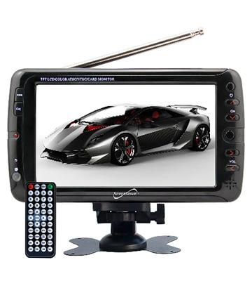 Review of Supersonic Portable Digital LCD TV