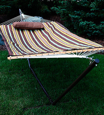 Review of Sunnydaze Decor Hammock With Stand