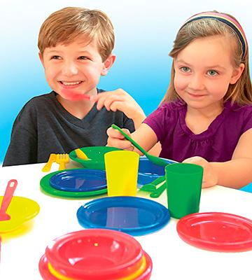 Review of Kidzlane Durable Kids Play Dishes