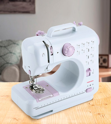 Review of DONYER POWER FHSM-505 Portable Sewing Machine