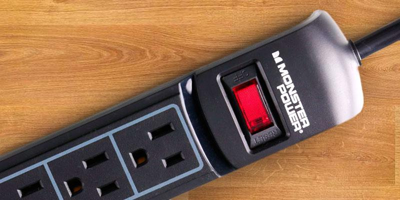 Review of Monster MP ME 600 6 Outlets Surge Protector