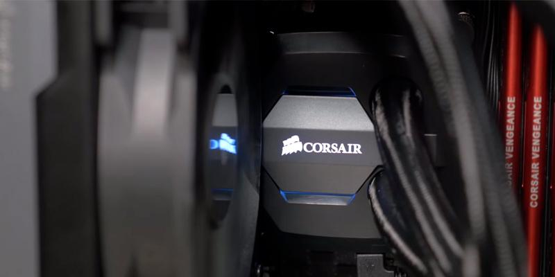 Corsair H80i V2 GT Performance Liquid CPU Cooler in the use