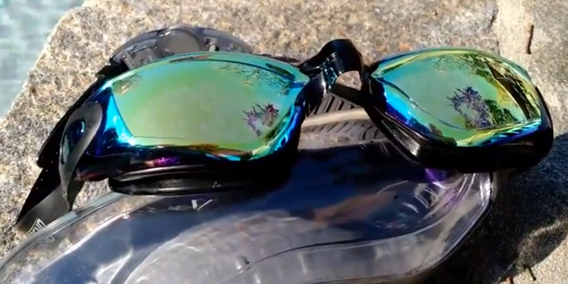 Review of Aegend 2360 Mirrored Lenses Swimming Goggles