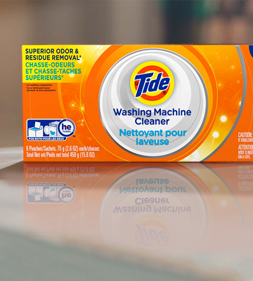 Review Of Tide Washing Machine Cleaner Detergent Carton
