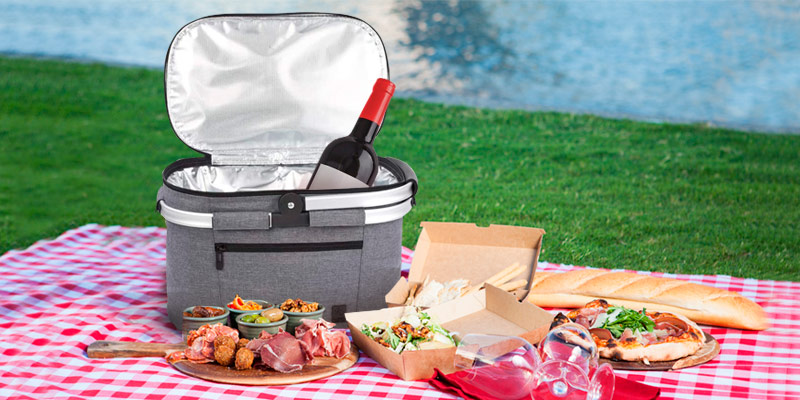 Review of ALLCAMP OUTDOOR GEAR Large Size Picnic Basket