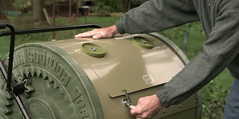 Review of Mantis CT02001 Compost Tumbler