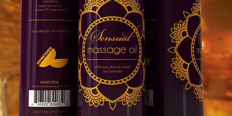 Review of Honeydew Massage Oil with Pure Lavender Oil