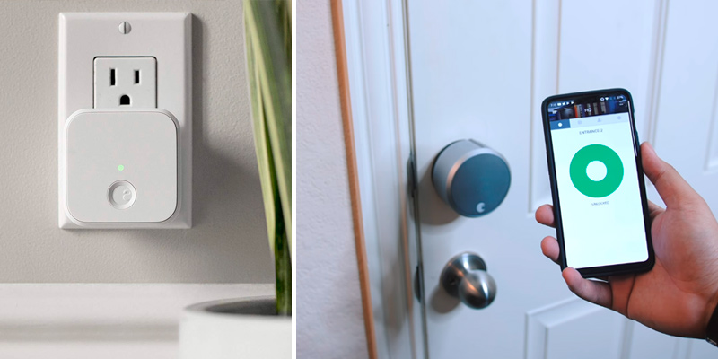August Home Smart Lock Pro Connect Wi-Fi Bridge, 3rd gen technology in the use