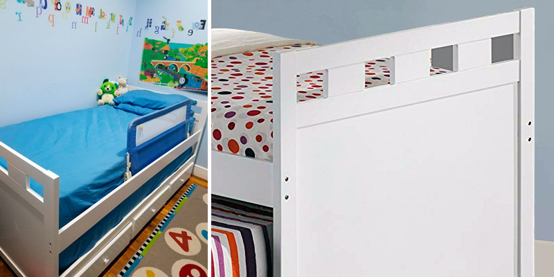 Broyhill Kids Bed with Roll-out Trundle and Drawers in the use