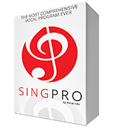 SingPro The Most Comprehensive Vocal Program Ever