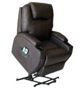 U-MAX Power Lift Recliner Heated Vibration Massage Chair