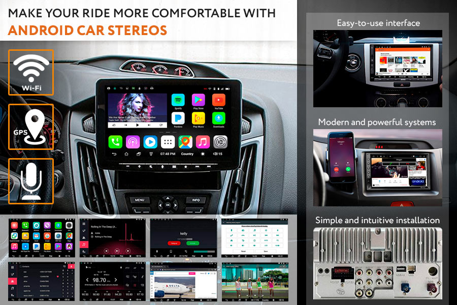Comparison of Android Car Stereos