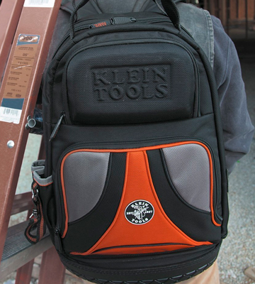 Review of Klein Tools 55421BP-14 39-Pocket Electrician Tool Backpack