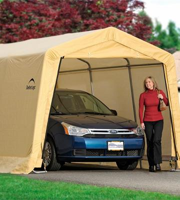 Review of ShelterLogic New Auto Shelter
