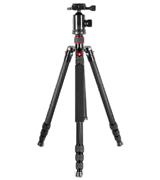 Neewer Carbon Fiber Camera Tripod Monopod with Ball Head, Quick Shoe Plate, Bag