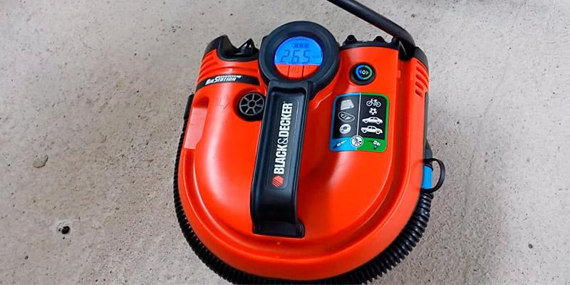 Review of Black & Decker ASI500 Cordless Air Station Inflator