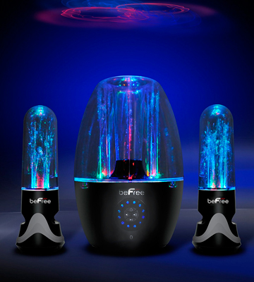 Review of BeFree BFS-33X 2.1 Channel Wireless Multimedia Led Dancing Water Bluetooth System