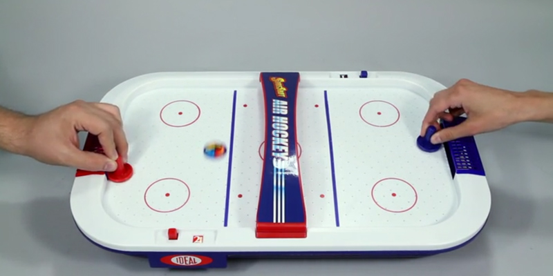 Detailed Review Of IDeal SureShot Air Hockey Tabletop Game