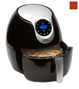 Power Air Fryer XL 3.4 QT Deluxe, Black Air Fryer