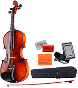 ADM VLZ31-44 Acoustic Violin 4/4 Handmade Wooden Outfit