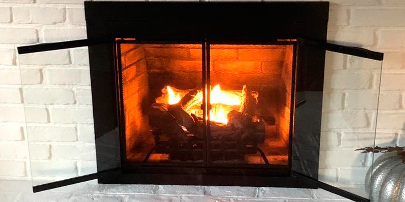 Review of Pleasant Hearth AN-1010 Alpine Fireplace Glass Door