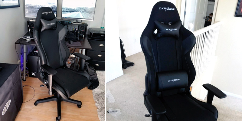 Review of DX Racer Racing Series DOH/RW106/N Newedge Edition Gaming Chair for 180 lbs
