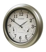 La Crosse WT-3181PL Atomic Outdoor Clock with Temperature & Humidity