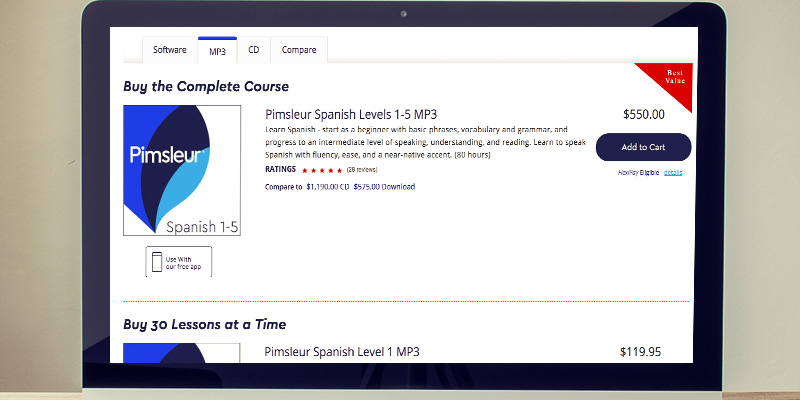 Detailed review of Pimsleur Method Learn Spanish