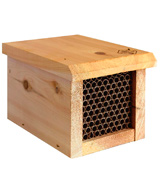 Welliver Outdoors WPBEE Mason Bee House with Replaceable Tubes