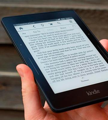 "Review of Kindle Voyage, 6"" High-Resolution Display (300 ppi) with Adaptive Built-in Light, PagePress Sensors, Wi-Fi - Includes Special Offers"
