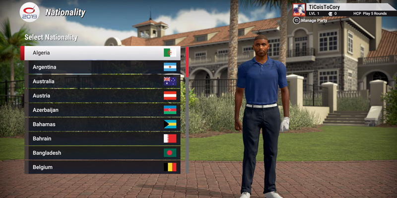 2K The Golf Club 2019 Featuring PGA Tour for PlayStation 4 in the use