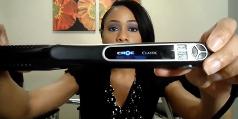 Review of Croc Classic Nano Titanium Flat Iron