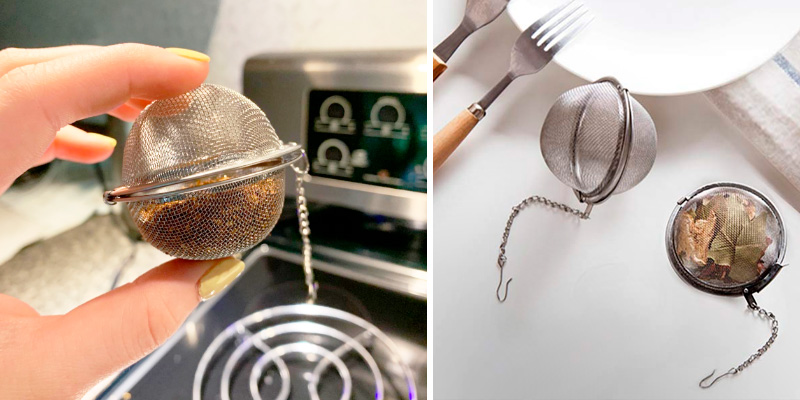 Review of Fu Store 2pcs Stainless Steel Tea Infuser