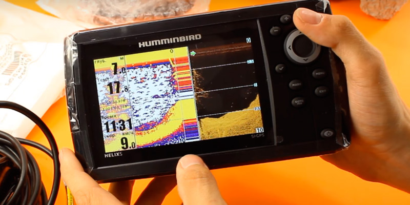 Detailed review of Humminbird Helix GPS G2