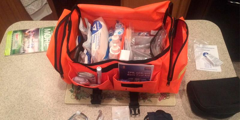 MFASCO Emergency First Aid Kit in the use