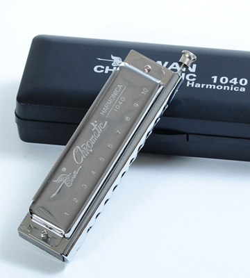 Review of Swan SW1040 Harmonica in C Key 10 Holes 40 Tone, Chromatics