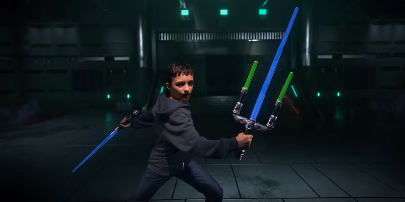 Star Wars Jedi Master Lightsaber application