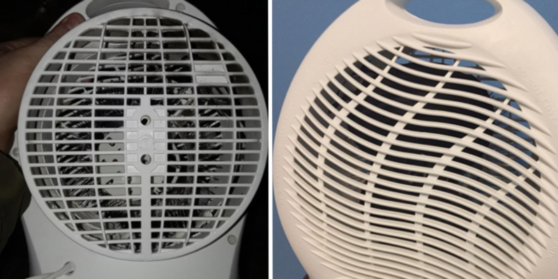 Optimus H-1322 Fan Heater with Thermostat in the use